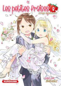 Les petites fraises T8, manga chez Kurokawa de Barasui