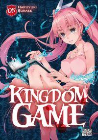 Kingdom game T5, manga chez Delcourt Tonkam de Sorase