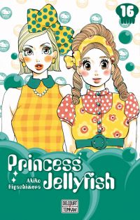 Princess jellyfish T16, manga chez Delcourt Tonkam de Higashimura