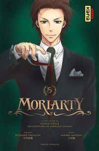 Moriarty T5, manga chez Kana de Takeuchi, Doyle, Miyoshi