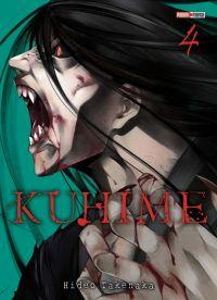 Kuhime T4, manga chez Panini Comics de Takenaka