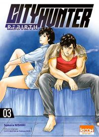 City Hunter rebirth T3, manga chez Ki-oon de Hôjô, Nishiki