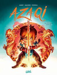 Azaqi T1 : Le Cinquième Rôdeur (0), bd chez Soleil de Jarry, Maconi