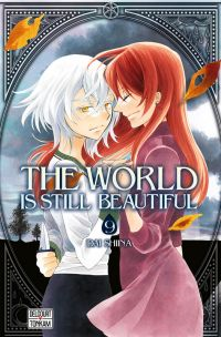 The world is still beautiful T9, manga chez Delcourt Tonkam de Shiina