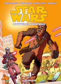 Star Wars Nouvelles Aventures T1, comics chez Delcourt de Barber, Scott, Mauricet, Kirchoff, Fenoglio