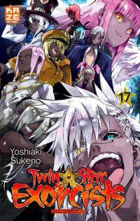 Twin star exorcists T17, manga chez Kazé manga de Sukeno