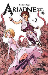Ariadne l'empire céleste T2, manga chez Glénat de Yagi