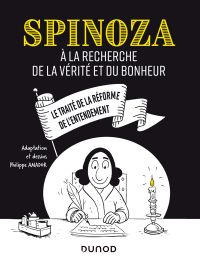Spinoza : A la recherche de la vérité et du bonheur (0), bd chez Dunod de Amador