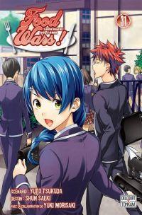 Food wars  T31, manga chez Delcourt Tonkam de Tsukuda, Saeki