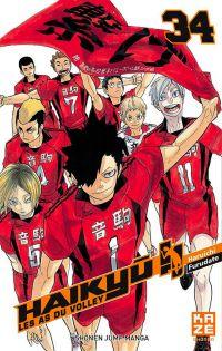 Haikyû, les as du volley T34, manga chez Kazé manga de Furudate