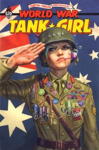World War Tank Girl, comics chez Ankama de Martin, Parson, Wahl