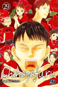 Chihayafuru T29, manga chez Pika de Suetsugu