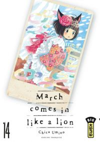 March comes in a like a lion T14, manga chez Kana de Chica