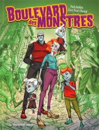 Boulevard des monstres, bd chez Les Humanoïdes Associés de Jenkins, Pham Chuong, Sonesaksith, Lopez