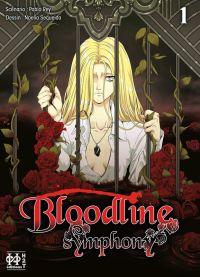 Bloodline symphony T1, manga chez H2T de Rey, Sequeira