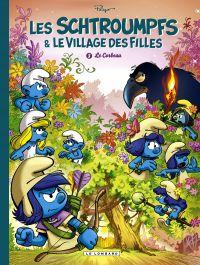 Les Schtroumpfs et le Village des Filles T3 : Le corbeau (0), bd chez Le Lombard de Culliford, Parthoens, Maury, Maddaleni