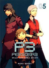 Persona 3 T5, manga chez Mana Books de Sogabe, Atlus