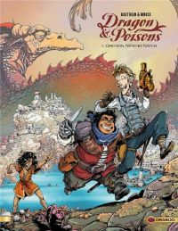 Dragon & poisons T1 : Greyson, Névo et Natch (0), bd chez Bamboo de Bauthian, Morse, Kaori
