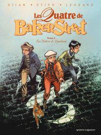 Les quatre de Baker street T8 : Les Maîtres de Limehouse (0), bd chez Vents d'Ouest de Legrand, Djian, Etien