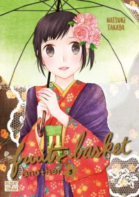 Fruits basket another T3, manga chez Delcourt Tonkam de Takaya