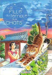 La fille du temple aux chats T5, manga chez Soleil de Ojiro