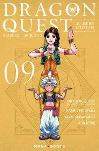Dragon quest - Les héritiers de l'emblème T9, manga chez Mana Books de Eishima, Fujiwara