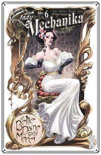Lady Mechanika T6 : La Belle dame sans merci (0), comics chez Glénat de M., Benitez, Montiel, Sotelo