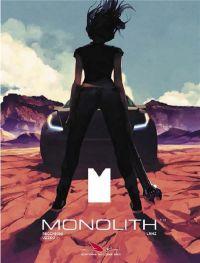 Monolith T2, bd chez Les éditions du Long Bec de Recchioni, Uzzeo, LRNZ