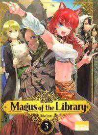 Magus of the library T3, manga chez Ki-oon de Izumi