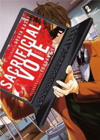 Sacrificial vote T2, manga chez Delcourt Tonkam de Kasai, Edogawa