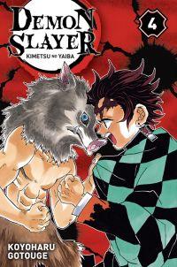 Demon slayer T4, manga chez Panini Comics de Gotouge