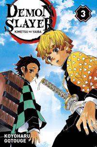 Demon slayer T3, manga chez Panini Comics de Gotouge