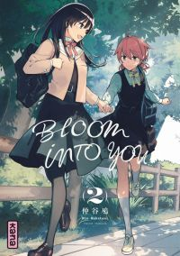 Bloom into you T2, manga chez Kana de Nakatani