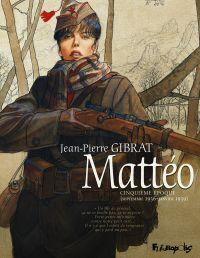 Mattéo T5 : Septembre 1936 - Janvier 1939 (0), bd chez Futuropolis de Gibrat