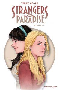 Strangers in paradise T4, comics chez Delcourt de Moore