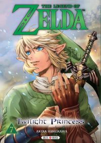 The legend of Zelda - Twilight princess T7, manga chez Soleil de Himekawa