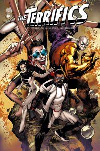The terrifics, comics chez Urban Comics de Lemire, Bogdanovic, Luis, Eaglesham, Reis, Benett, Shaner, Fairbairn, Hi-fi colour, Maiolo, Spicer, Atiyeh