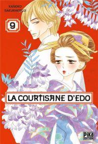 La courtisane d'Edo  T9, manga chez Pika de Sakurakouji