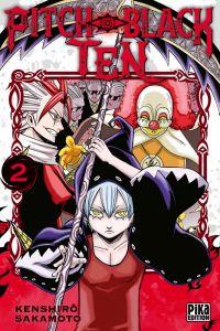 Pitch-black ten T2, manga chez Pika de Sakamoto