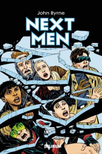 Next Men, comics chez Delirium de Byrne, Webb