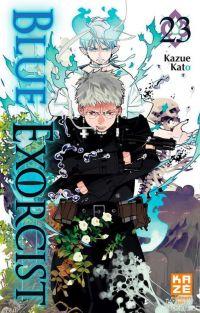 Blue exorcist T23, manga chez Kazé manga de Kato