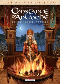 Les Reines de sang – Constance d'Antioche T2 : La princesse rebelle (0), bd chez Delcourt de Pécau, Parma, Fogolin