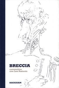 Breccia, conversations avec Juan Sasturain, bd chez Rackham de Sasturain, Breccia