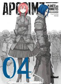 Aposimz T4, manga chez Glénat de Nihei