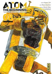 Atom - The beginning  T8, manga chez Kana de Tezuka, Yuuki, Kasahara
