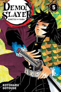 Demon slayer T5, manga chez Panini Comics de Gotouge