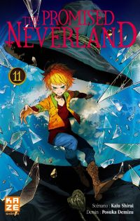 The promised neverland T11, manga chez Kazé manga de Shirai, Demizu
