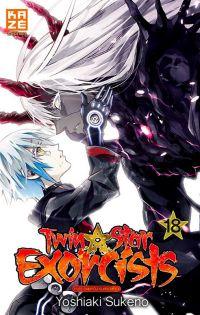 Twin star exorcists T18, manga chez Kazé manga de Sukeno