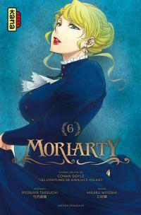 Moriarty T6, manga chez Kana de Doyle, Takeuchi, Miyoshi
