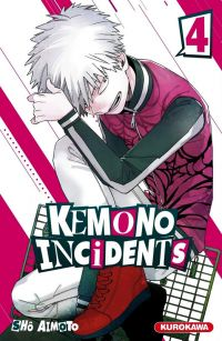 Kemono incidents T4, manga chez Kurokawa de Aimoto